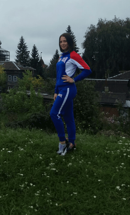 София Баяндина Русич Спорт