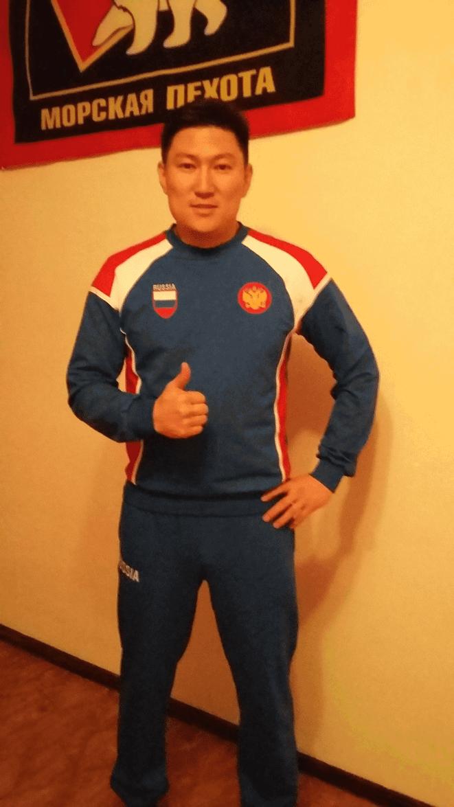Ochir Mandzhiev Русич Спорт